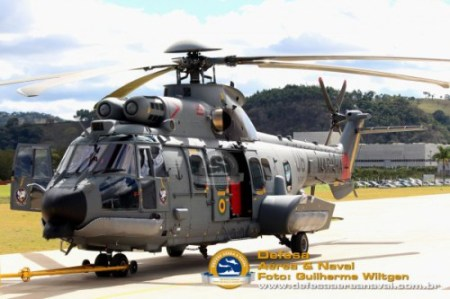 Helicóptero fabricado no Brasil